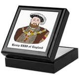 King Henry VIII Keepsake Box
