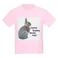 Some Bunny Loves Me Kids T-Shirt