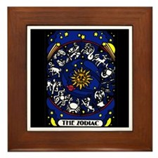 Zodiak Framed Tile