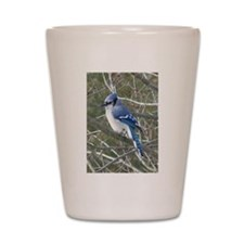 Blue Jay Shot Glass