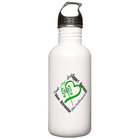 StemCellTransplant Heart Stainless Water Bottle 1.
