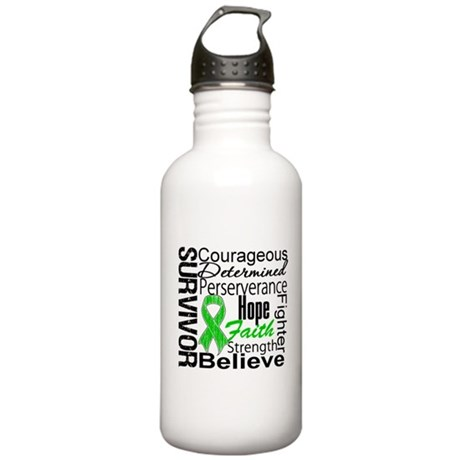 Survivor StemCellTransplant Stainless Water Bottle