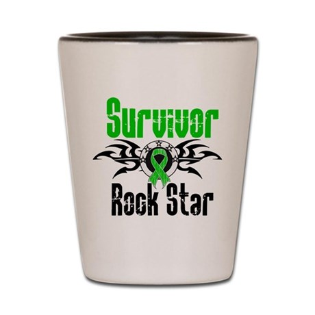 SCT Survivor Rock Star Shot Glass
