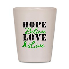 SCT BMT Hope Motto Shot Glass