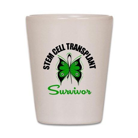 SCT Survivor Butterfly Shot Glass