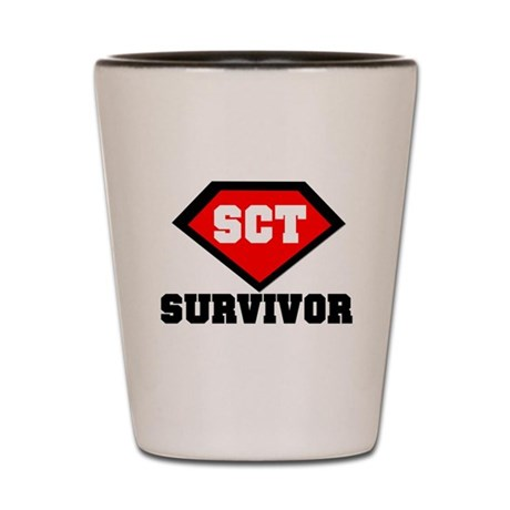 SCT Survivor Shot Glass