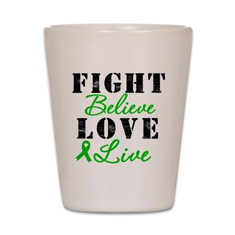 SCT Warrior Fight Shot Glass