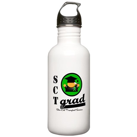 Stem Cell Transplant Grad Stainless Water Bottle 1