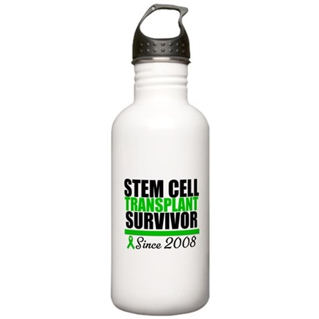 SCT Survivor Green Ribbon Stainless Water Bottle 1