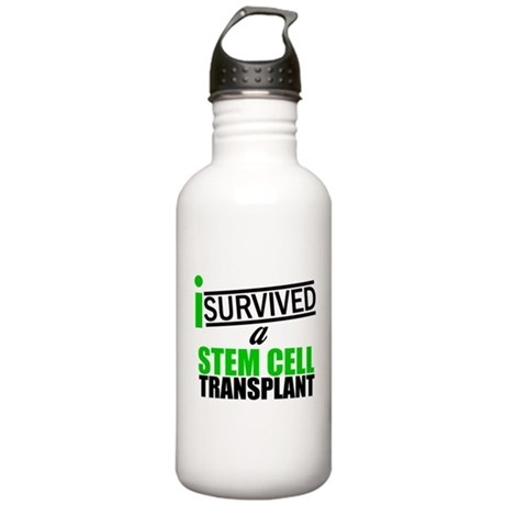 StemCellTransplant Survivor Stainless Water Bottle