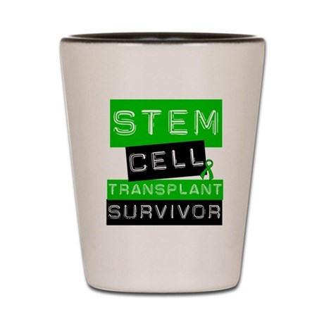 Stem Cell Transplant Shot Glass