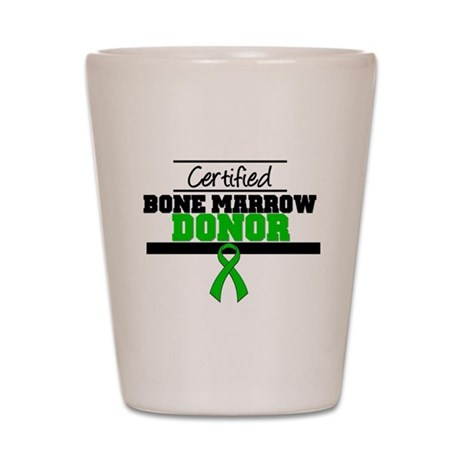 Cert. Stem Cell Donor Shot Glass