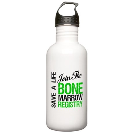 Join The Bone Marrow Registry Stainless Water Bott