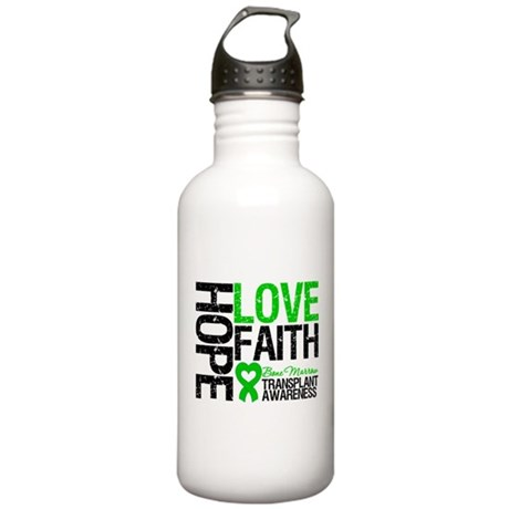BMT Hope Love Faith Stainless Water Bottle 1.0L