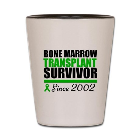 BMT Survivor Since '02 Shot Glass