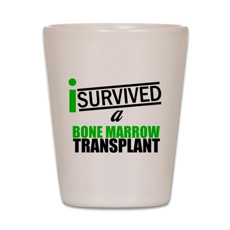 I Survived a BMT Shot Glass