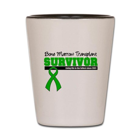 BMT Survivor 2001 Shot Glass