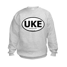 Unique Ukulele player Sweatshirt
