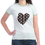 Love Fireworks Jr. Ringer T-Shirt