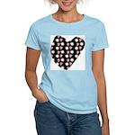 Love Fireworks Women's Pink T-Shirt