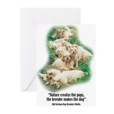 Cute Clumbers Greeting Cards (Pk of 10)