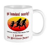 Support Minuteman Project Mug