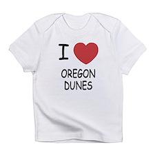 I heart oregon dunes Infant T-Shirt