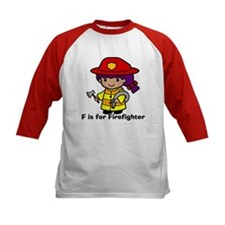 F is for Firefighter Tee