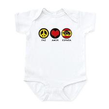 Paz Amor Espana Infant Bodysuit