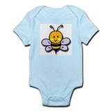 Cute Bee Infant Creeper