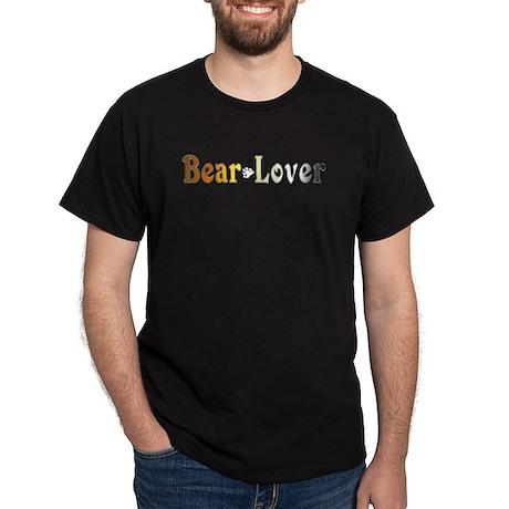 Bear Lover Black T-Shirt