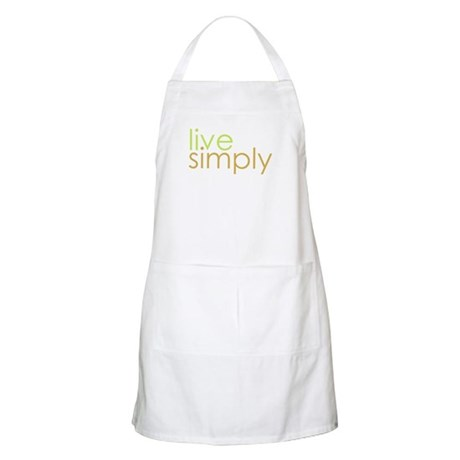 live simply BBQ Apron