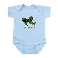 Big Sister Butterfly Custom Infant Bodysuit