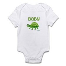 Baby Turtle Custom Infant Bodysuit