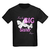 Big Sister Hot Pink Butterfly Custom T