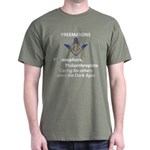 Masonic Care Dark T-Shirt
