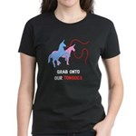 Tongues Women's Dark T-Shirt