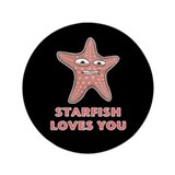 "Starfish 3.5"" Button"