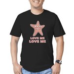 Love Me Men's Fitted T-Shirt (dark)