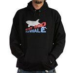It's a Whale Hoodie (dark)