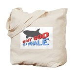 It's a Whale Tote Bag
