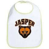 Jasper Bear Face Bib