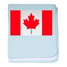 Canada Flag baby blanket
