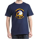 322d Training Squadron Black T-Shirt