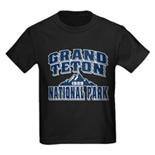 Grand Teton Old Style Blue T