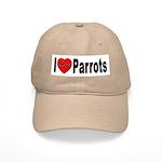 I Love Parrots Cap