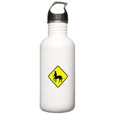 Caution Centaurs Sports Water Bottle