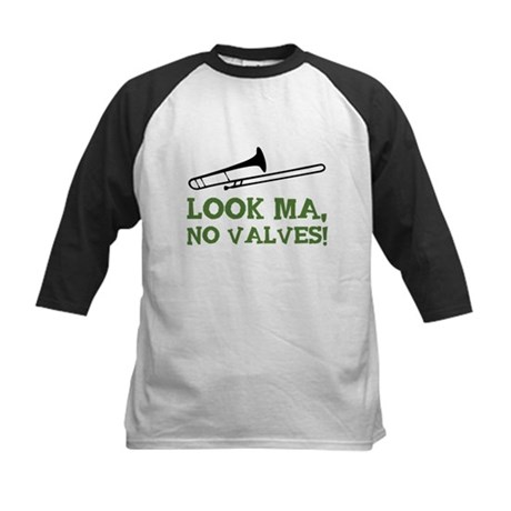 Look Ma, No Valves Kids Baseball Jersey