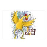 Cute Cluck hen Postcards (Package of 8)