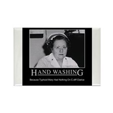 Infection Control Humor 02 Rectangle Magnet